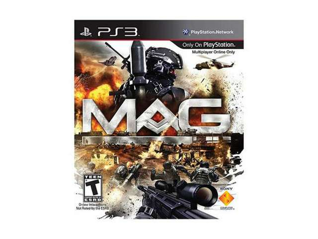 New Action Games For Ps3 : Mag massive action w bluetooth new sony ps game