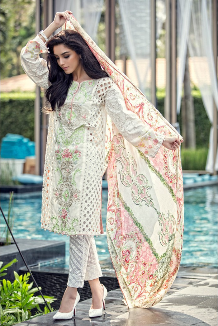 MARIAB Lawn 2016 Online D1601A price in Pakistan