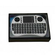 Generic NEW White Wireless Mini Keyboard with Touchpad for Smart TV Samsung LG Panasonic Toshiba Price in Pakistan