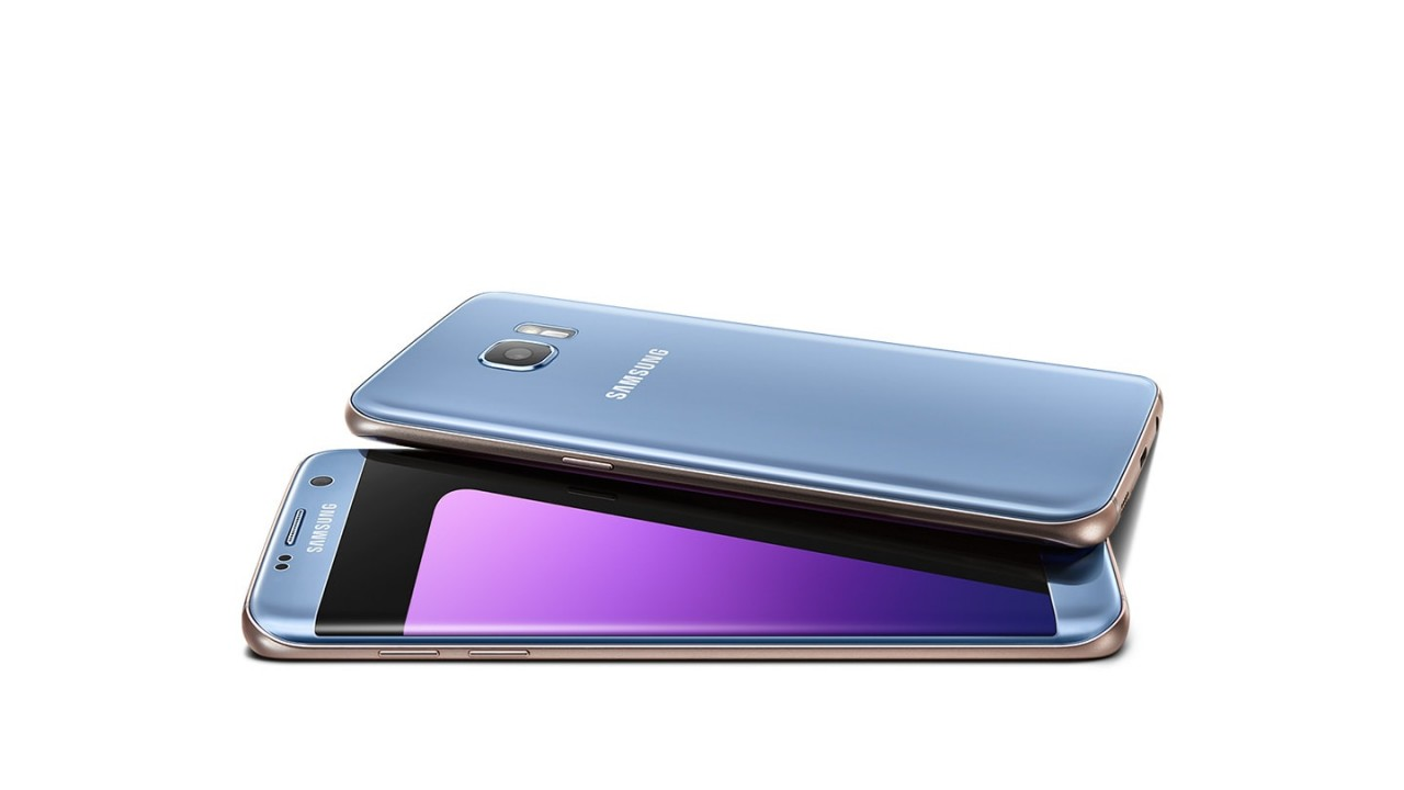 Samsung Galaxy S7 Edge G935F (4G -32GB) Coral Blue