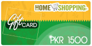 Homeshopping Gift Card PKR 1500 In Pakistan