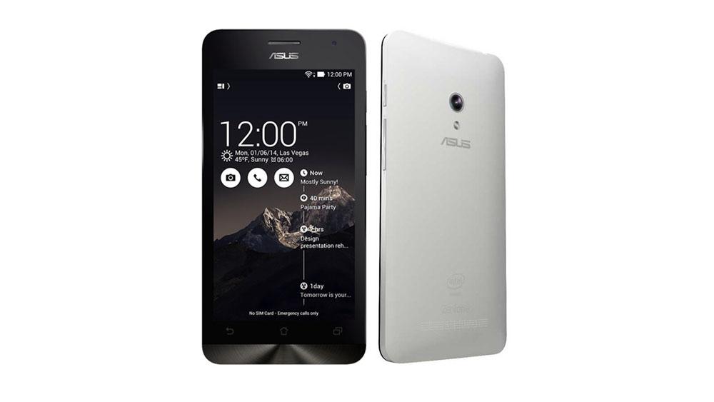 Asus Zenfone 5 3G 8GB Pearl White