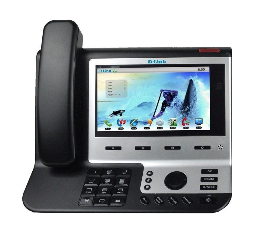 D-Link Video SIP Business IP Phone 7