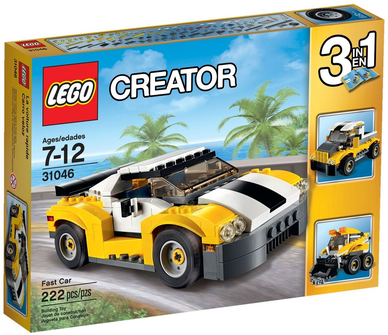 lego creator fast car 16 in pakistan. Black Bedroom Furniture Sets. Home Design Ideas