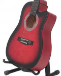Bell 39 Matte Finish Acoustic Guitar with Free Guitar Bag  Red Burst price in Pakistan