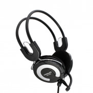 CROWN Portable Pc Headset CMH940s Silver Price in Pakistan