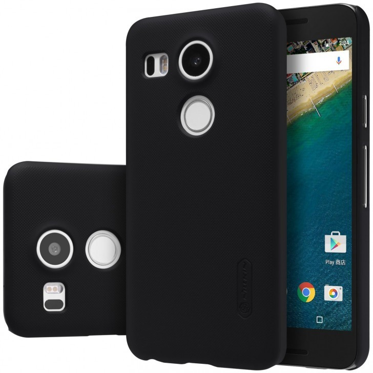 pretty nice ae074 de98d Nilkin Frosted Shield Back Cover For Google Nexus 5X