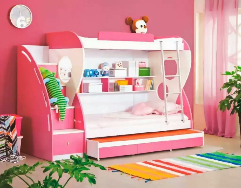 Picture of: Bravo Kids Bunk Bed Pink Blue Price In Pakistan Hsn