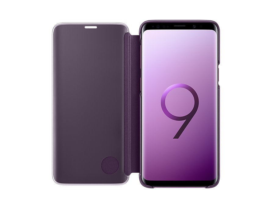 timeless design f40d5 41ce1 Samsung Galaxy S9+ Clear View Standing Cover (Purple)