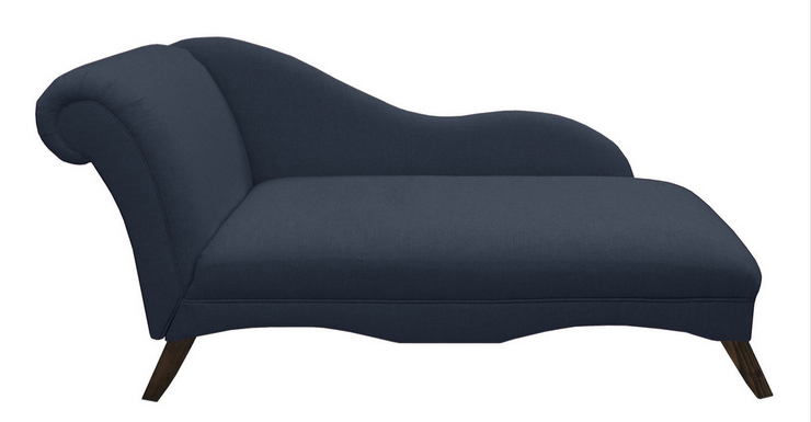 Ariel chaise longue navy pwcr19 51 homeshopping for Chaises longues tressees