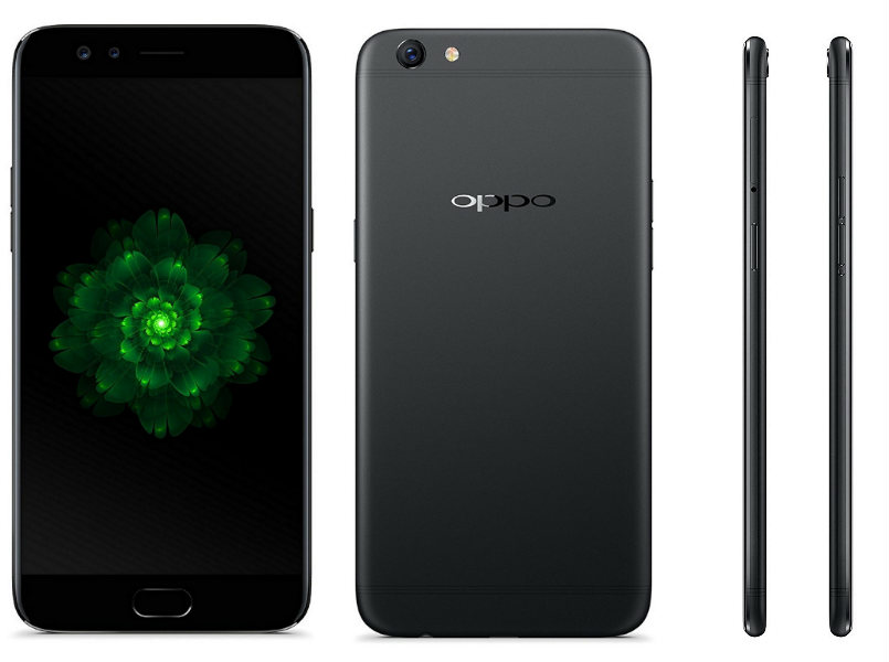 Oppo F3 Dual Sim (4G, 64GB, Black) Official Warranty