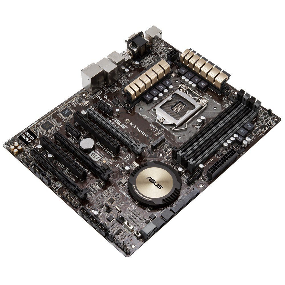 ASUS Z97-A LGA 1150 Intel Z97 HDMI SATA 6Gb/s USB 3.0 ATX Intel ...