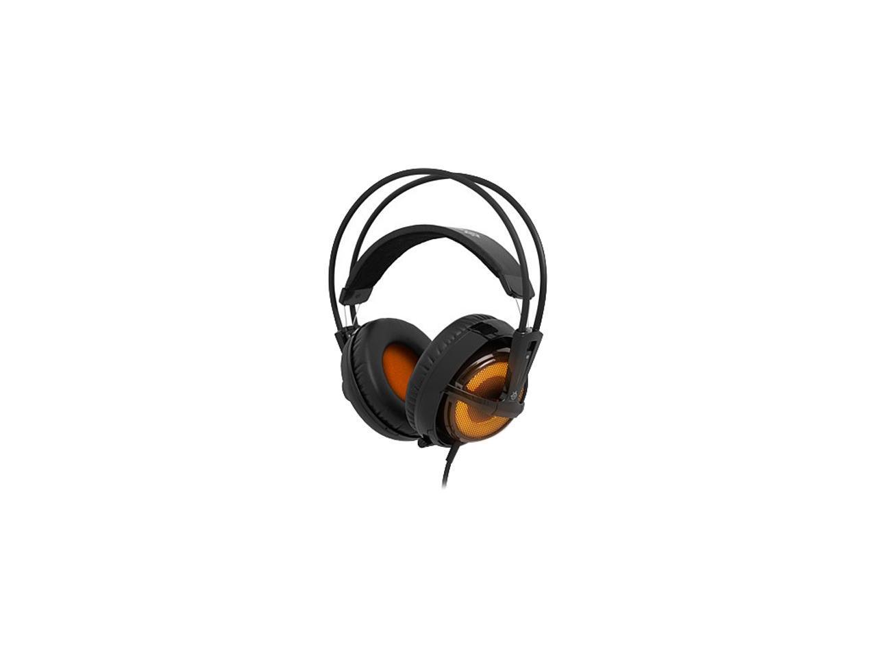 SteelSeries Siberia v2 Heat Orange Headset Windows