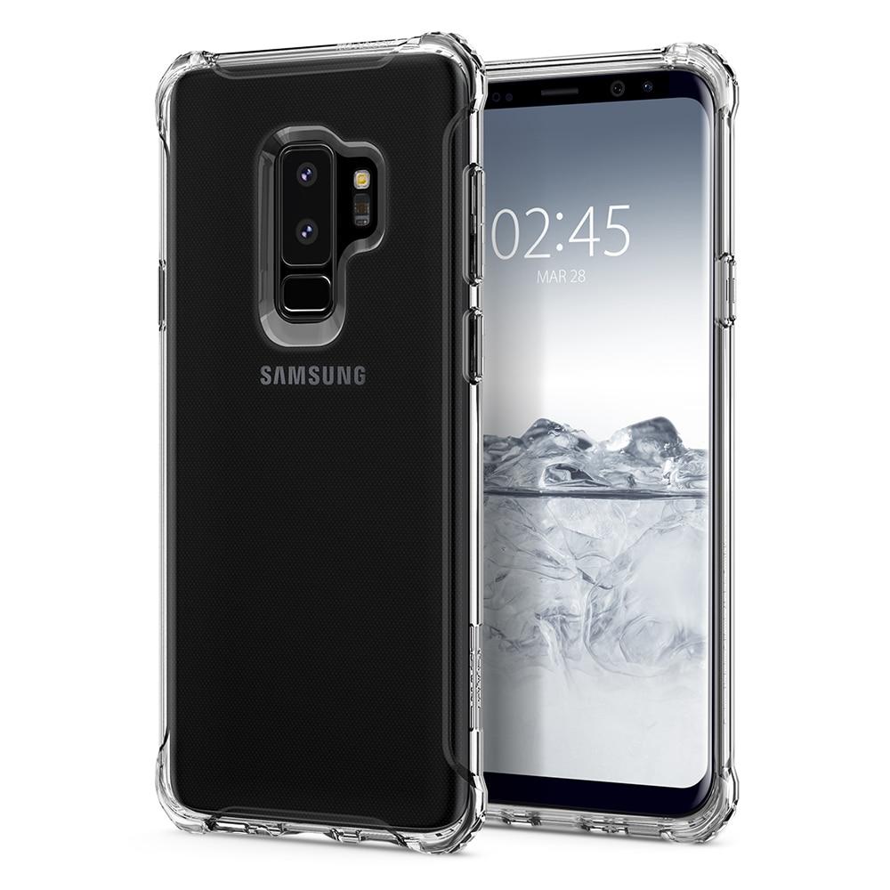 buy online 453ba 41fe9 Samsung Galaxy S9 Plus Spigen Original Rugged Crystal Soft Case - Crystal  Clear