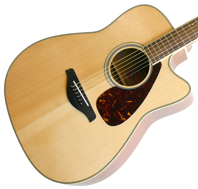 Yamaha Fgx 720sc Semi Acoustic Guitar Natural Price In Pa