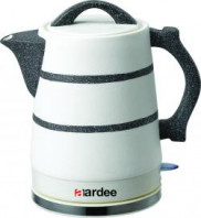 Aardee ARKT1522S Kettle food Grade Ceramic Material White Price in Pakistan
