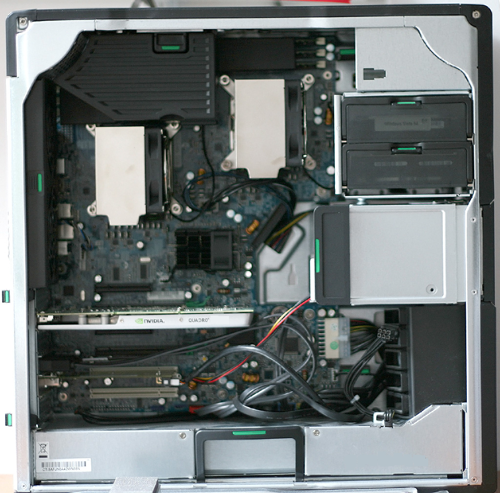 HP Z600 Gaming PC 2X E5620 Dual Processor Quad Core 2 4Ghz 16GB Ram 1TB  Hard Gtx 750ti 2GB DDR5 Graphic Card