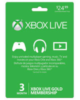 Microsoft 3 Months Membership Card XBox Live Price in Pakistan