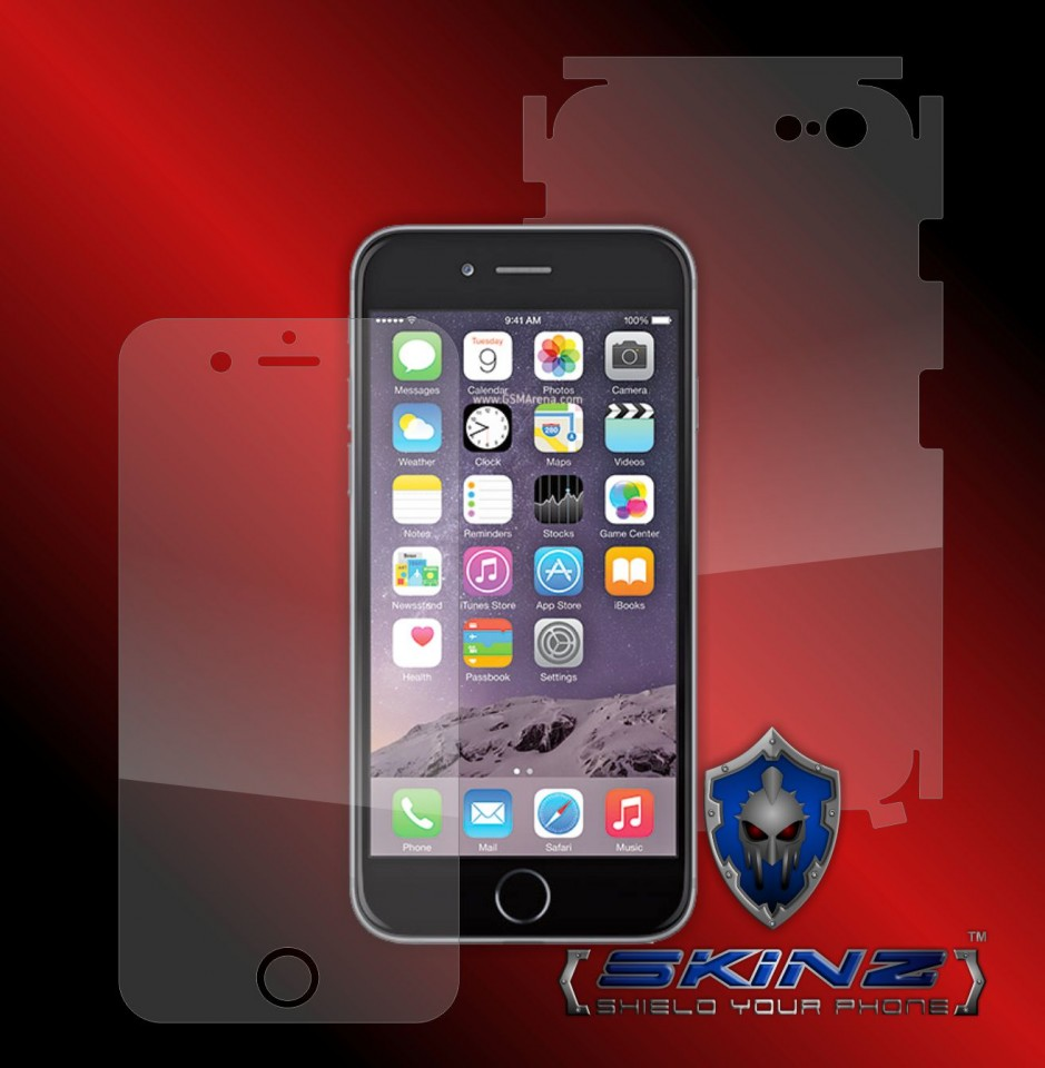 the latest 442b9 36964 Slim 360°Protection Built In Screen Protector Flexible Gel Protector (2  piece Front & Back) For iPhone 7