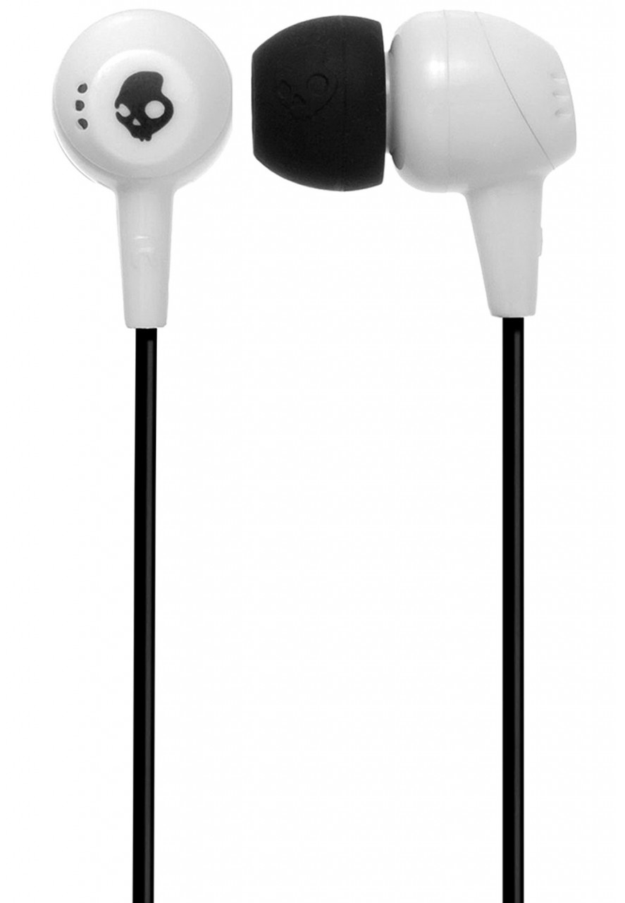 In ear earbuds white - earbuds white skullcandy