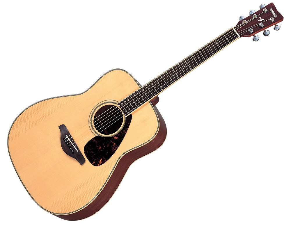 Yamaha fg720s solid top acoustic guitar natural price in for Yamaha solid top