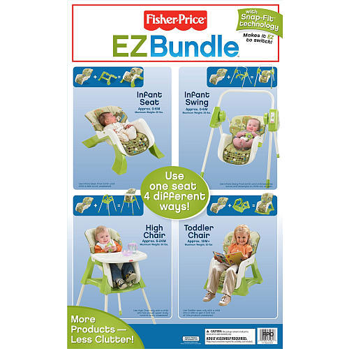 Fisher Price Baby Furniture Bundle White  Pc