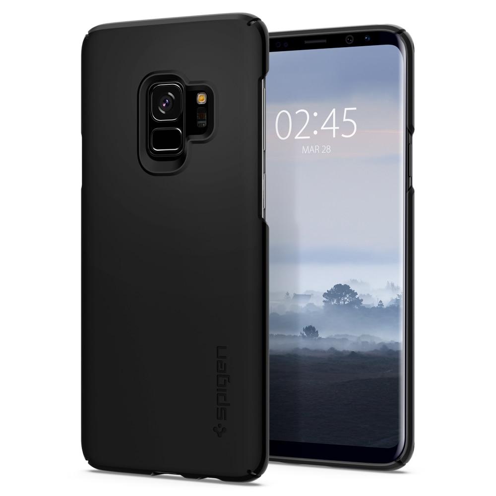 newest 2e0bc 94ff0 Samsung Galaxy S9 Spigen Original Thin Fit Case - SF Black