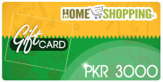 Homeshopping Gift Card PKR 3000 In Pakistan