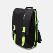 CROWN Laptop Backpack Harmony 33 SIZE 156 BPH3315 Black with Green Stripes Price in Pakistan