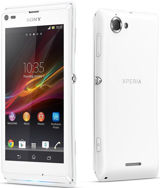 Xperia L White Price