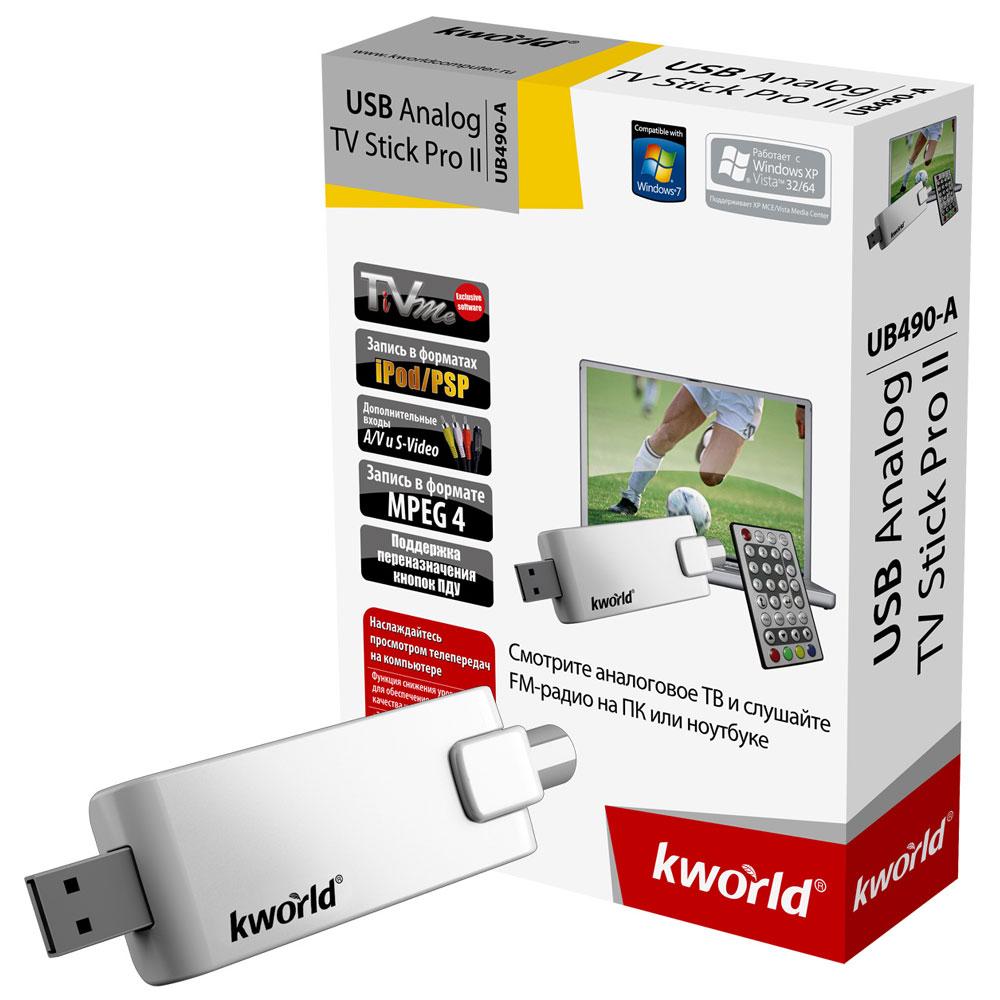 KWorld UB490-A TV Stick TiVme Treiber Windows XP