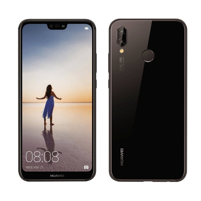 Huawei P20 lite Dual Sim (4G, 4GB, 64GB, Black) 1 Year Official Warranty