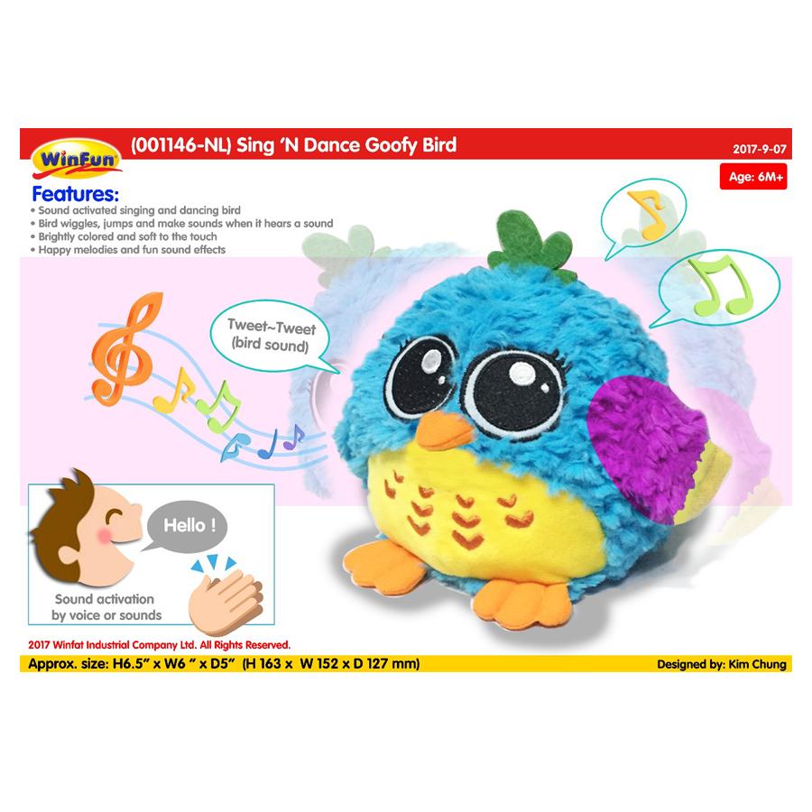 Winfun Sing N Dance Goofy Bird 1146 204398 Price In Pakistan Homeshopping Pk