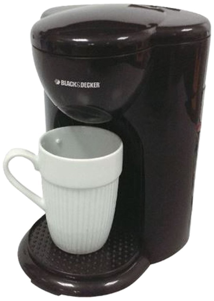 One Cup Latte Coffee Maker : Black Decker DCM25 1 Cup Coffee Maker 220V Black Price i