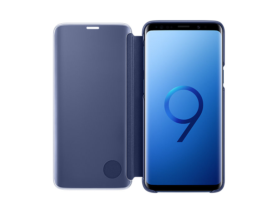 best service 3313a 2ead2 Samsung Galaxy S9+ Clear View Standing Cover (Blue)
