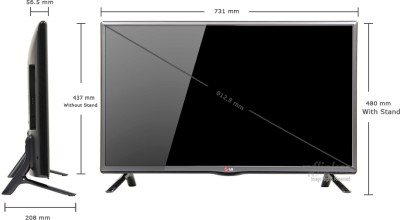 lg 32 32lb550a hd ready led tv price in pakistan. Black Bedroom Furniture Sets. Home Design Ideas