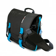 CROWN Laptop Carrier Case Harmony 33 Size 156 CCH3315 Black with Blue Stripes Price in Pakistan