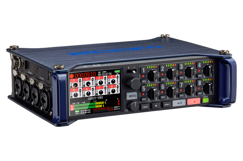 Zoom F8 MultiTrack Field Recorder Windows 8 X64