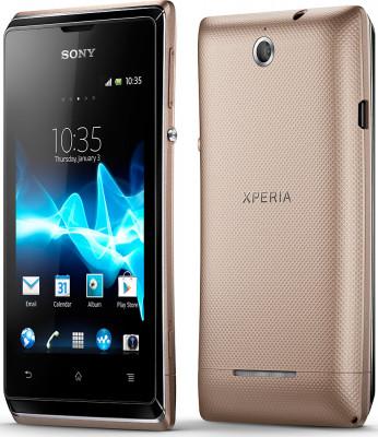 Sony Xperia E (Dual Sim, GOLD) 1