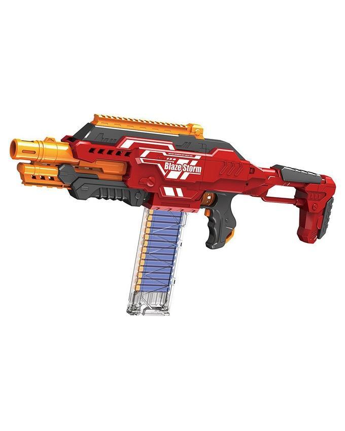 Blaze Storm Automatic Rapid Fire Soft Bullet Blaster Nerf Gun Price