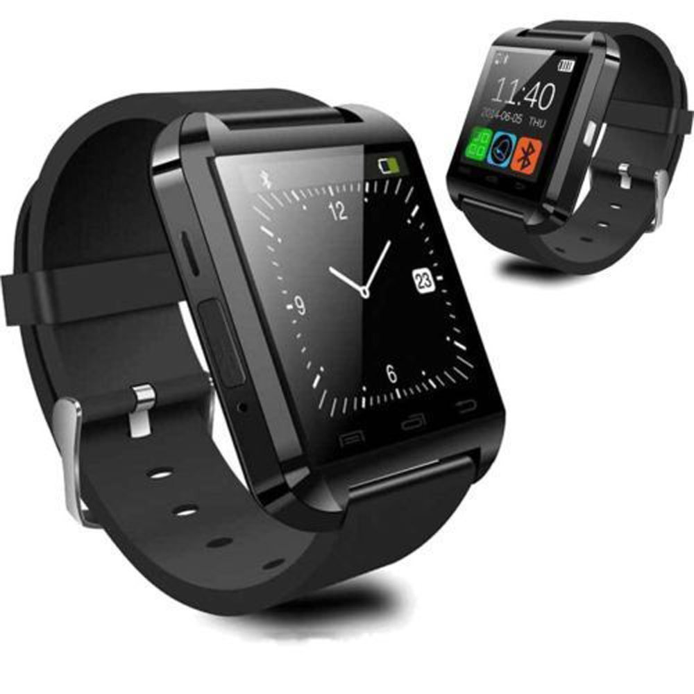 Android Smartwatch U8 Black Price -Home Shopping
