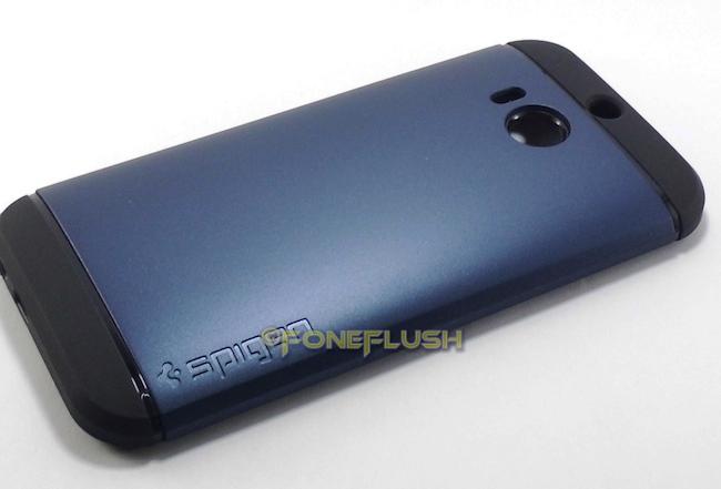 info for 1a151 d14d2 Spigen Replica Slim Armor HTC One M8 Case [Metal Slate]