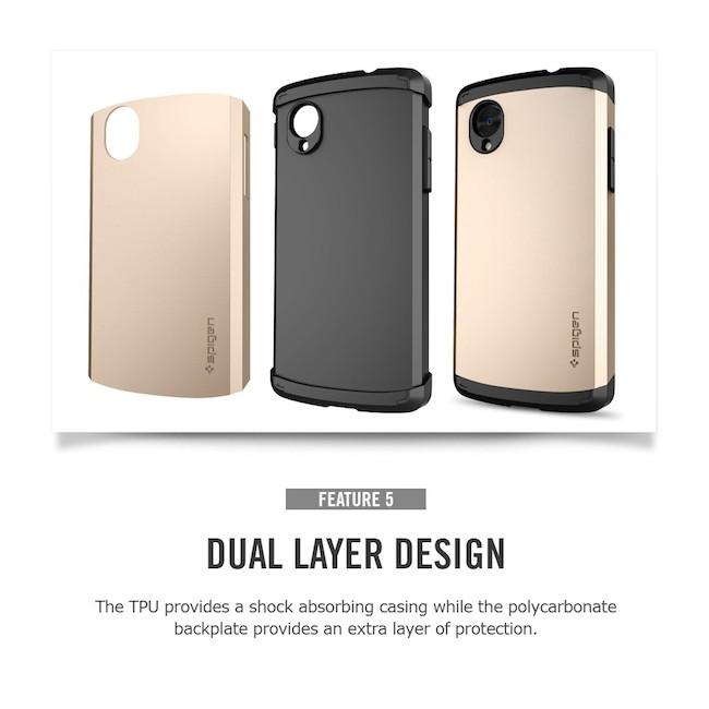 online store 91c30 f1ca9 FoneFlush SGP Nexus 5 Case Slim Armor/990-homeshopping.pk