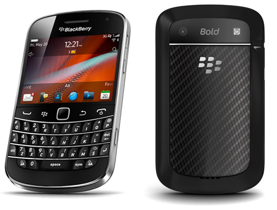 BlackBerry BOLD Touch 9900 (3G - 8GB) Black