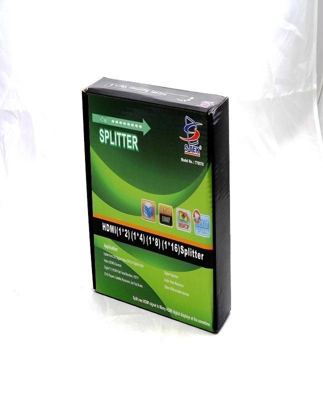S-Tek HDMI Splitter Ver1 4 - 4 Port