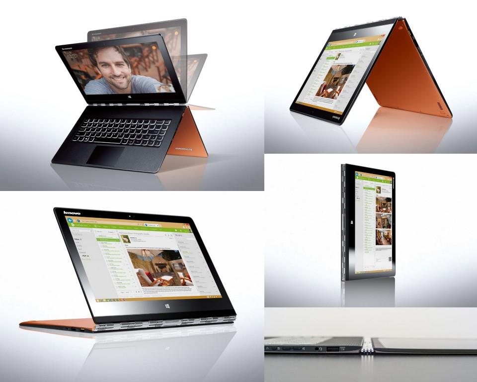 lenovo yoga 3 pro orange intel core m 5y71 13 3 qhd. Black Bedroom Furniture Sets. Home Design Ideas
