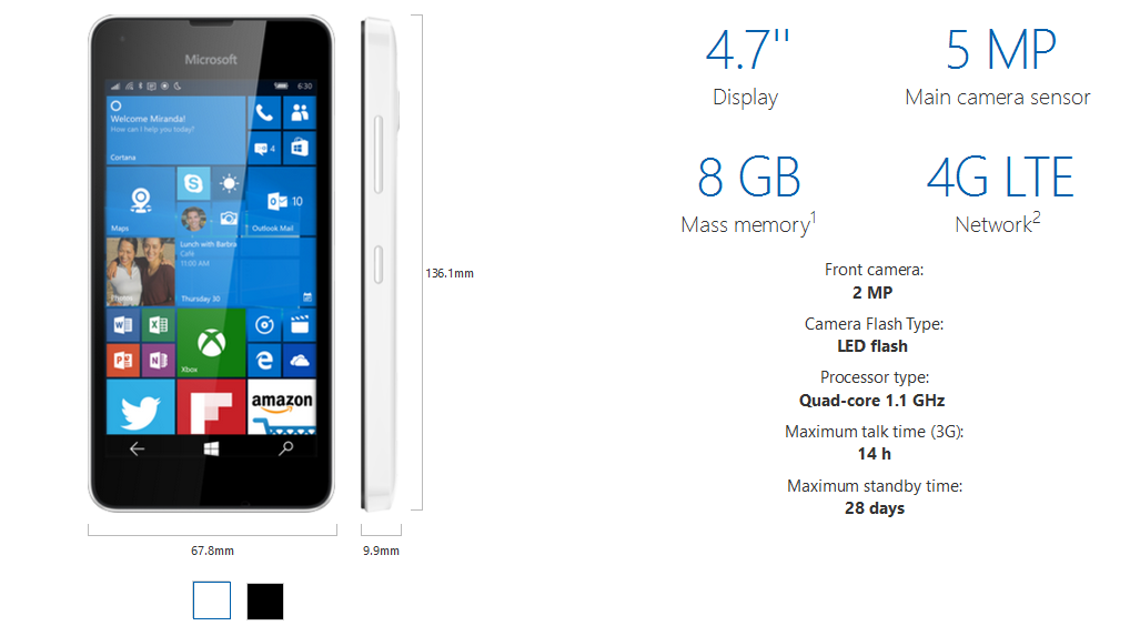 Lumia 550 price in pakistan