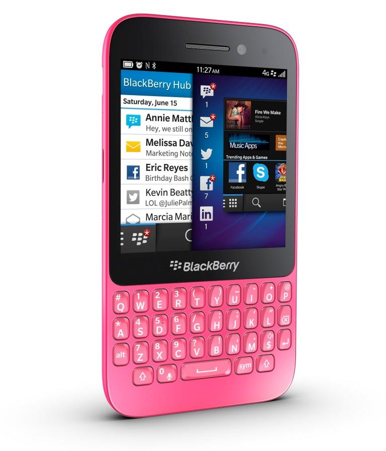BlackBerry Q5 Pink Price in Pakistan. Home Shopping