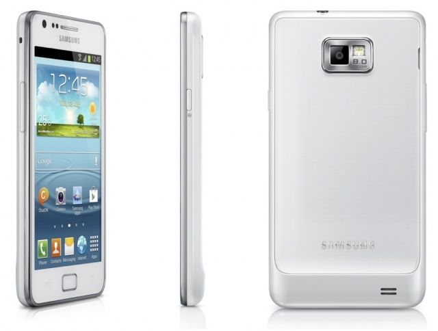 Samsung i9105p galaxy s2 plus white dresses