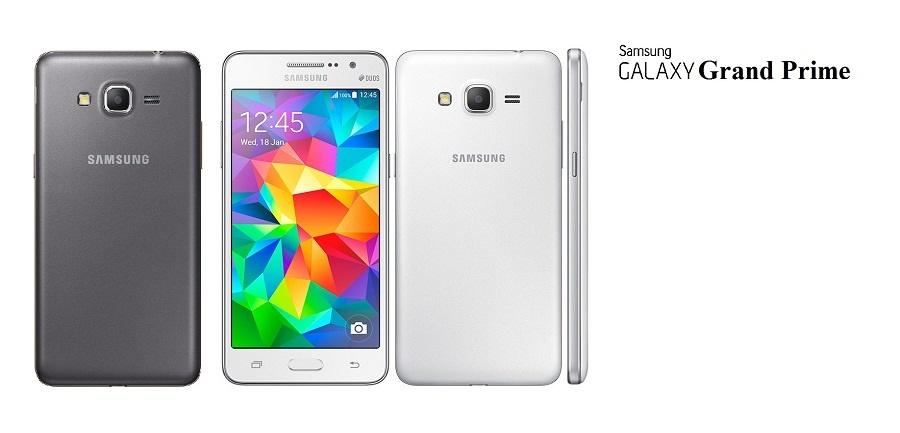 Samsung Galaxy Grand Prime- SM-G530 Dual Sim (8GB, White)